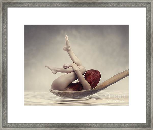 Beauty Bath Framed Print