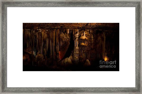 Beauty Below 2 Framed Print by Julie Clements