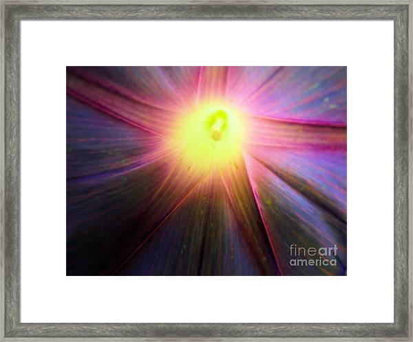 Beauty Lies Within Framed Print