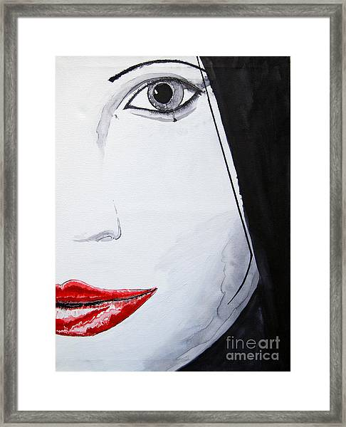 Beauty Framed Print by Michael Rados