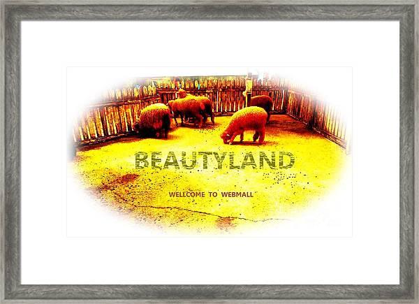 Beautyland Framed Print