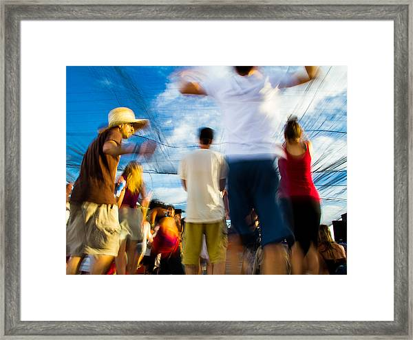 Becoming One With It All Framed Print