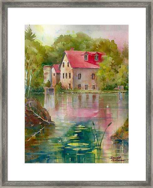Bedford Mill Framed Print
