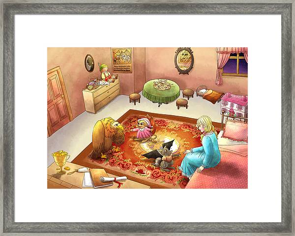 Bedtime For Tammy Framed Print