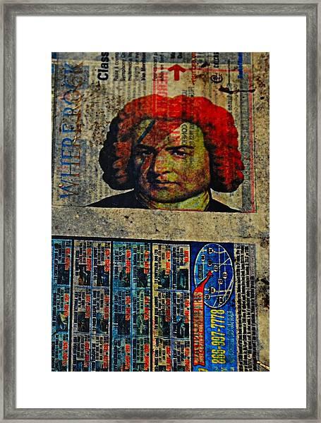 Beethoven02 Framed Print