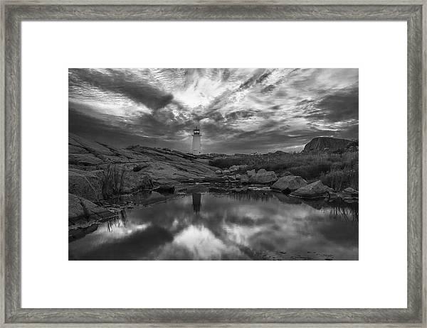 Before Dawn Bw Framed Print