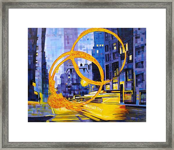 Before These Crowded Streets Framed Print