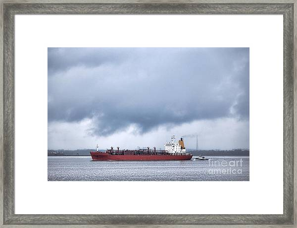 Begin The Voyage  Framed Print