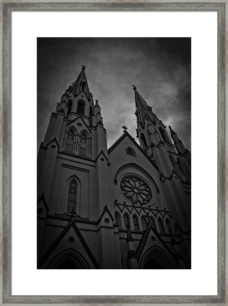 Behave Framed Print