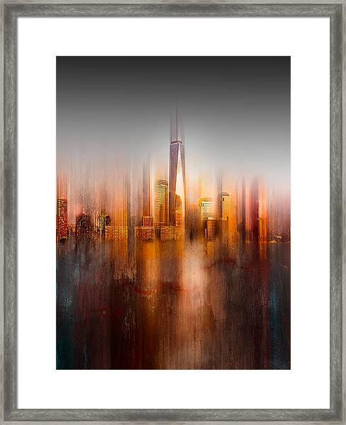 Behind The Window Framed Print by Carmine Chiriac?