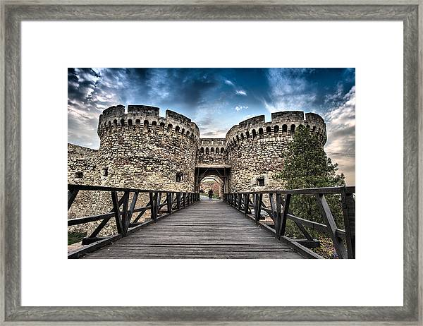 Belgrade Castle Framed Print
