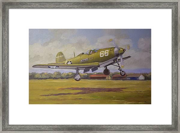 Bell Airacobra Framed Print