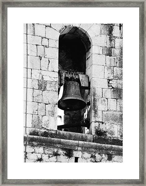 Bell Tower Valbonne Abbey Framed Print