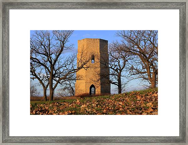 Beloit Historic Water Tower Framed Print