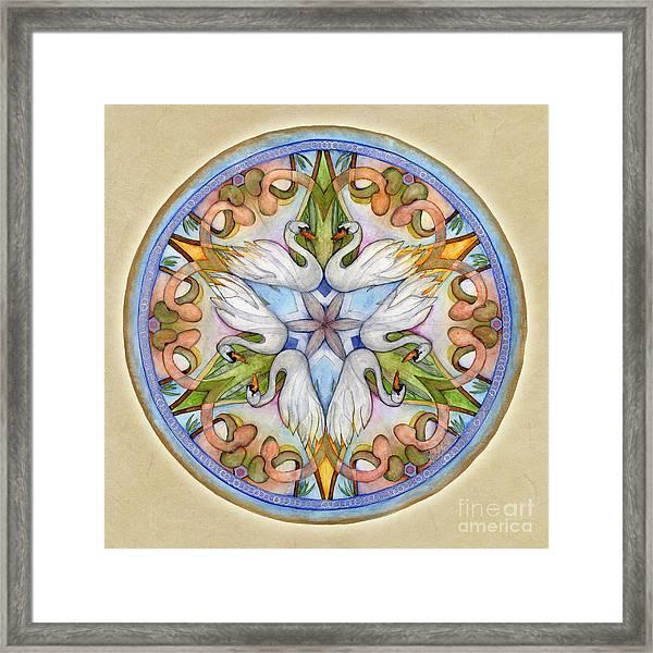 Beloved Mandala Framed Print