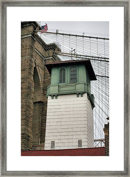 Below The Bridge Framed Print by JC Findley