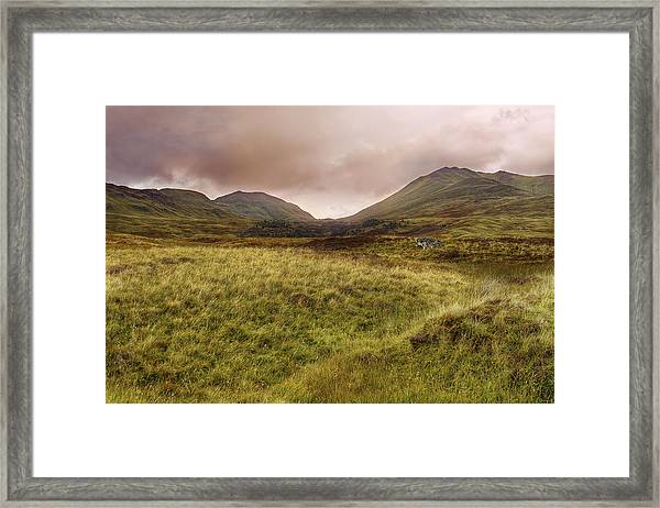 Ben Lawers - Scotland - Mountain - Landscape Framed Print