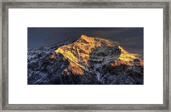 Ben Lomond Sunrise Framed Print
