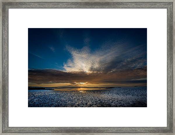 Benbecula Sunset Framed Print