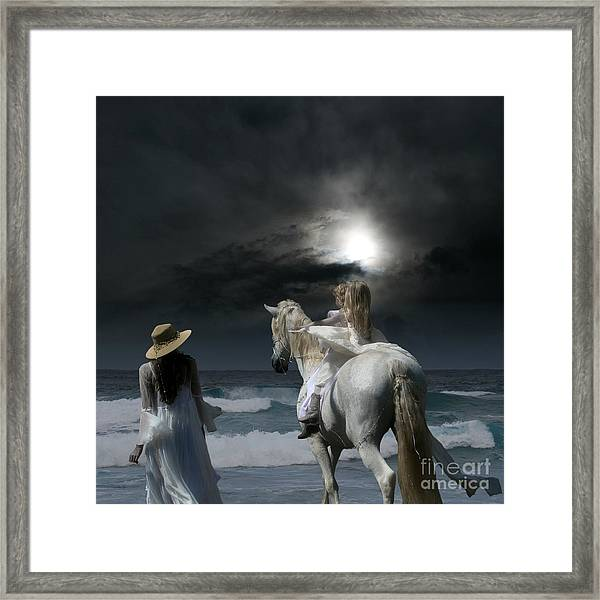 Beneath The Illusion In Colour Framed Print