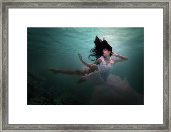 Beneath The Sea Framed Print