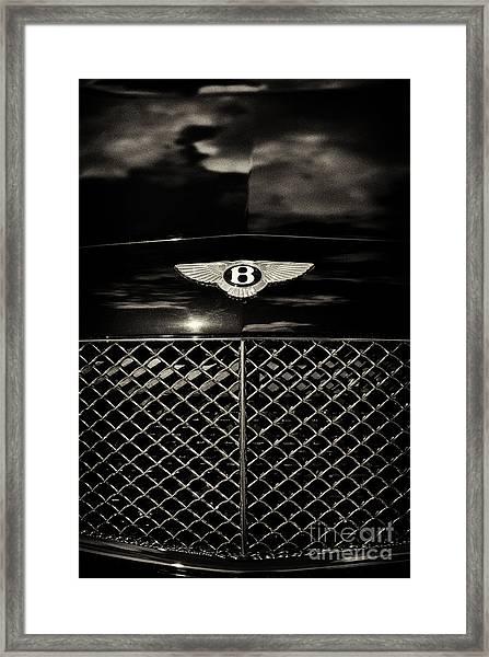 Bentley Continental Gt Sepia Framed Print