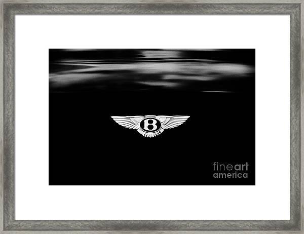 Bentley Continental Gt  Framed Print