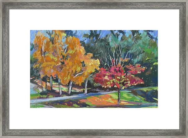 Berkshire Fall Framed Print