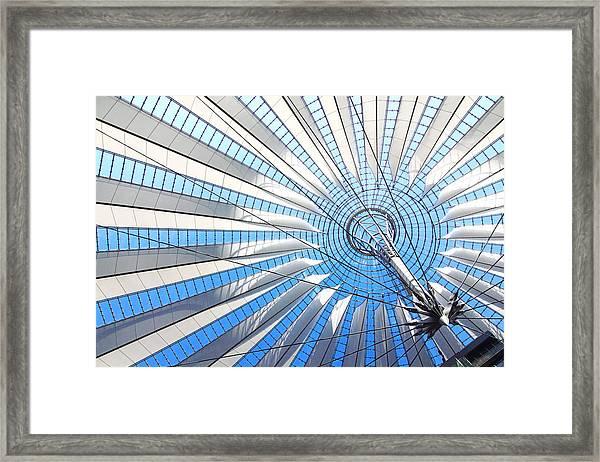 Berlin - Sony Center  Framed Print
