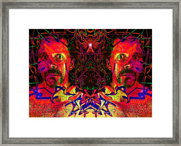 Beside Myself With Entropic Axis 2014 Framed Print