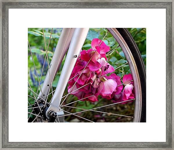 Bespoke Flower Arrangement Framed Print
