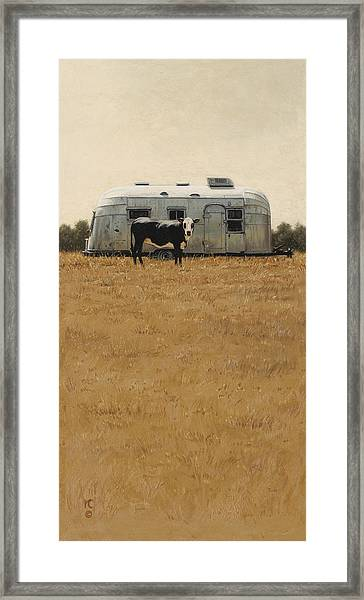 Bessie Wants To Travel Framed Print