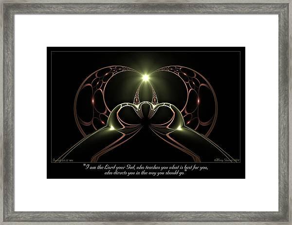 Best For You Framed Print