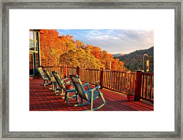 Best View In Town  Framed Print