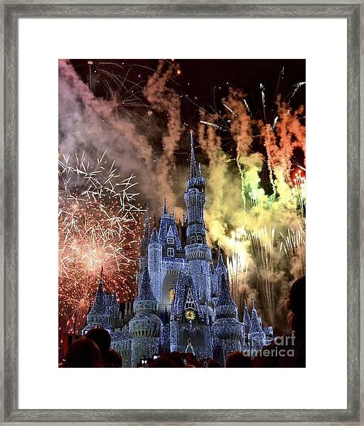 Holiday Magic Framed Print