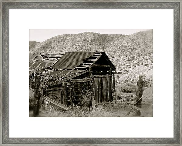 Aged To Perfection Framed Print