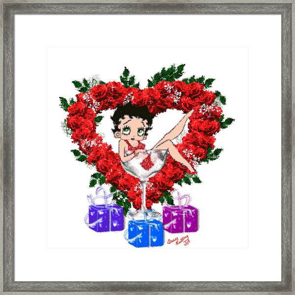 Betty Boop 4 Framed Print