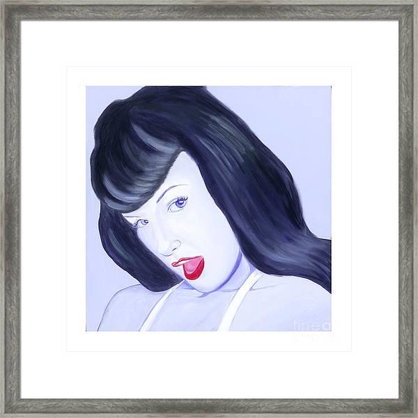 Bettie Framed Print