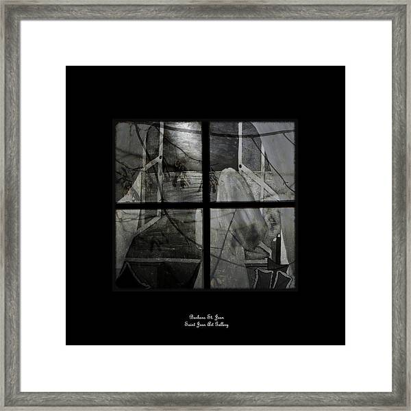 Between The Frames Framed Print