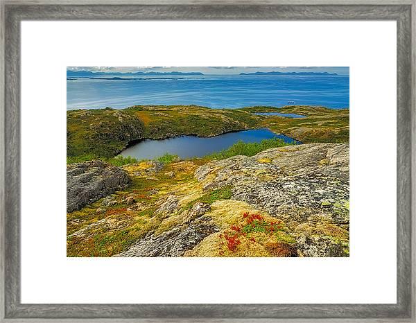 Beyond The Arctic Circle Framed Print by Maciej Markiewicz
