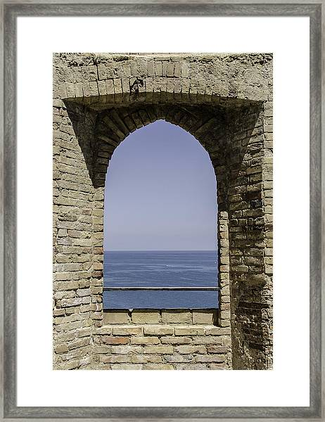 Beyond The Gate Of Infinity Framed Print