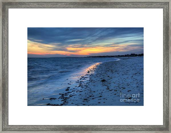 Beyond The Gilded Sunset Framed Print