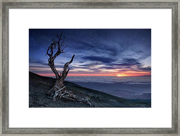 Beyond The Sky Framed Print
