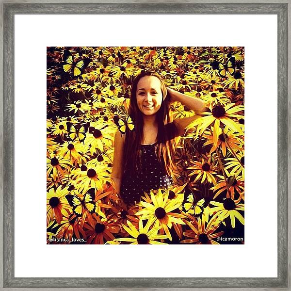 Bianca Framed Print