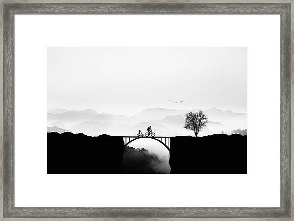 Bicycle Ride Framed Print