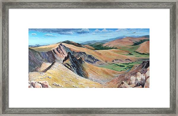 Bierstadt Saddle Framed Print
