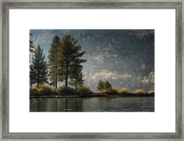 Big Bear Lake Scenic Framed Print