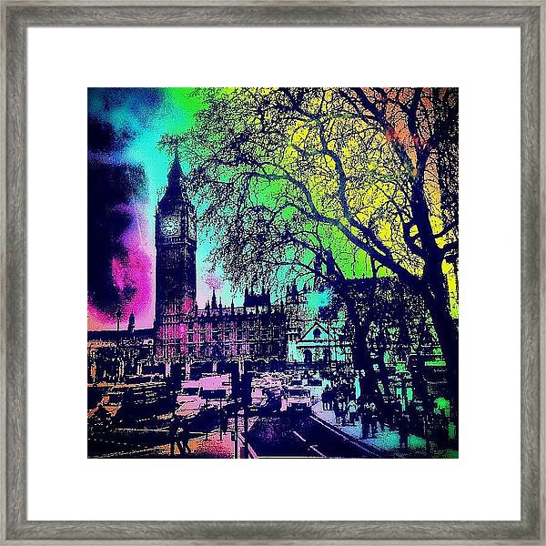 Big Ben Again!! Framed Print