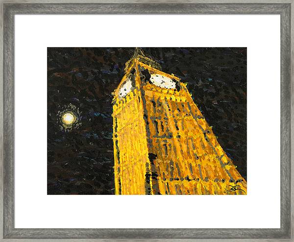 Big Ben At Night Framed Print