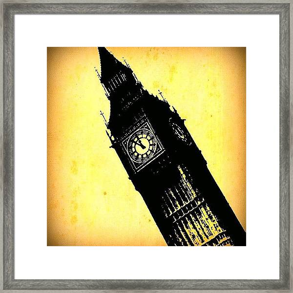 Big Ben!! Framed Print